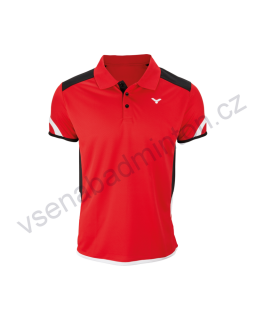Tričko VICTOR Polo Function Unisex red 6727